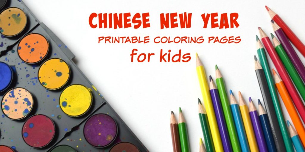 Chinese New Year Coloring Pages for kids|Ripped Jeans and Bifocals