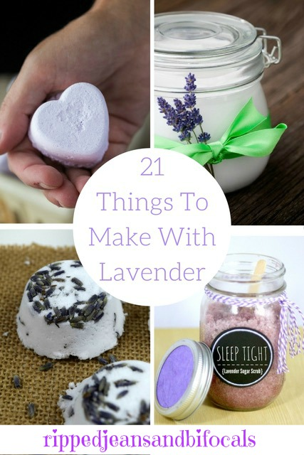 21 things to do with lavender|Ripped Jeans and Bifocals