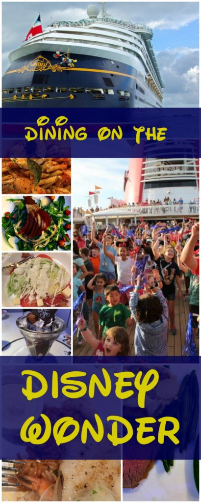 Dining on the Disney Wonder|Ripped Jeans and Bifocals