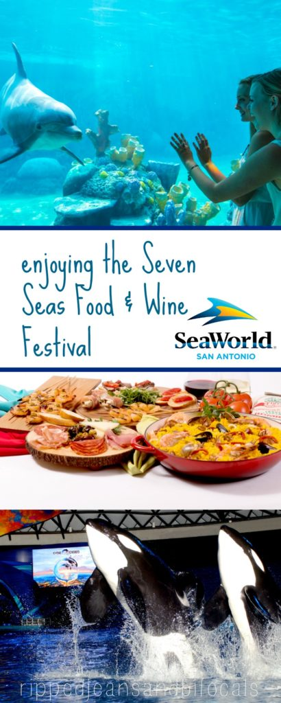 Enjoying the Seven Seas Food and Wine Festival at SeaWorld San Antonio|Ripped Jeans and Bifocals