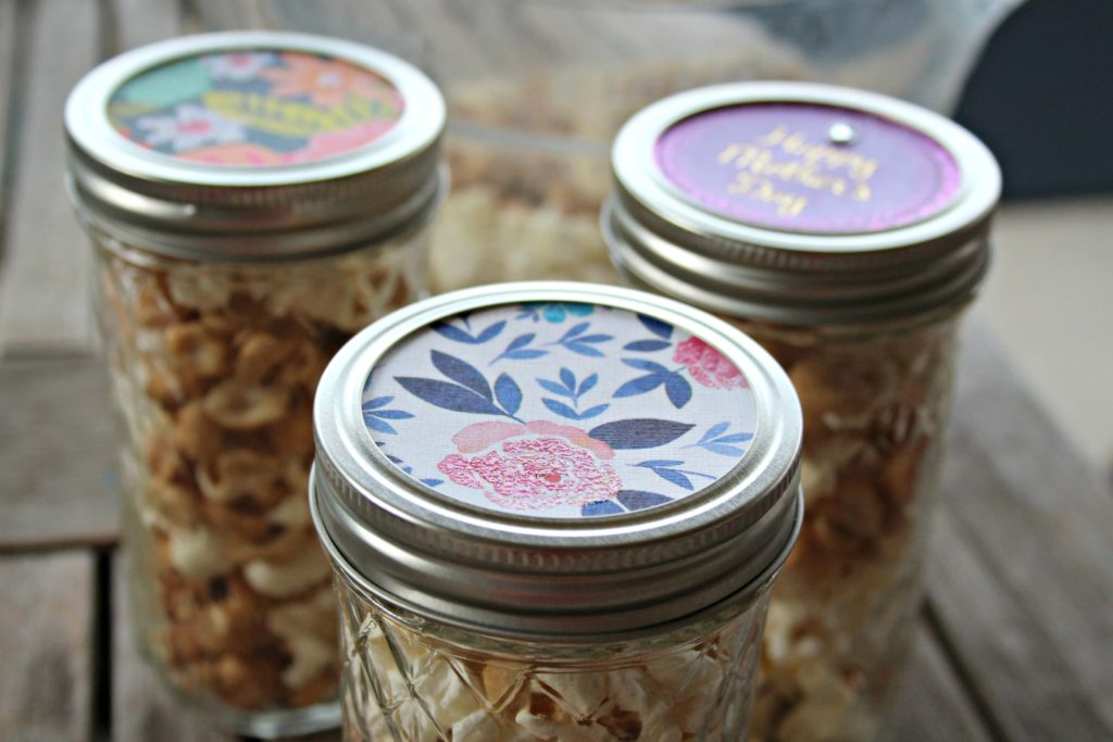 Mother's Day Gift Idea: Mason Jars with Upcycled Greeting Cards|Ripped Jeans and Bifocals