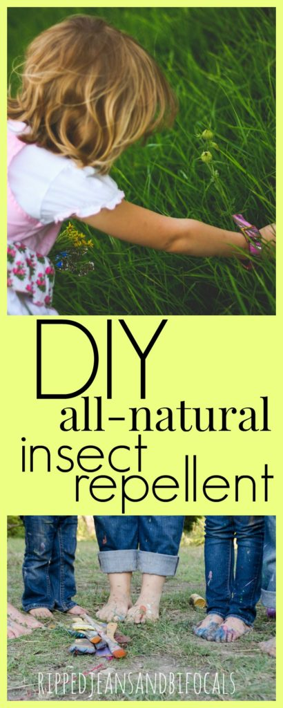 DIY all natural insect repellent|Ripped Jeans and Bifocals