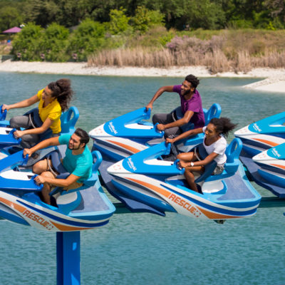 Wave Breaker Rescue Coaster at SeaWorld San Antonio