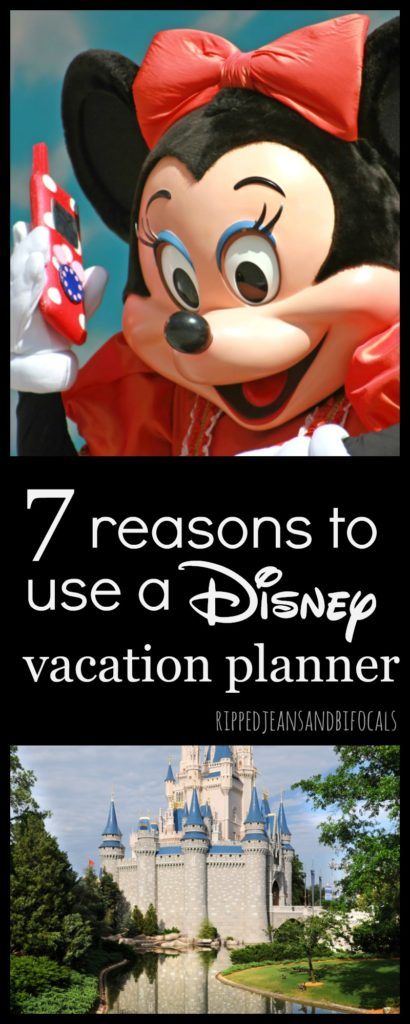 7 reasons to use a Disney vacation planner|Ripped Jeans and Bifocals