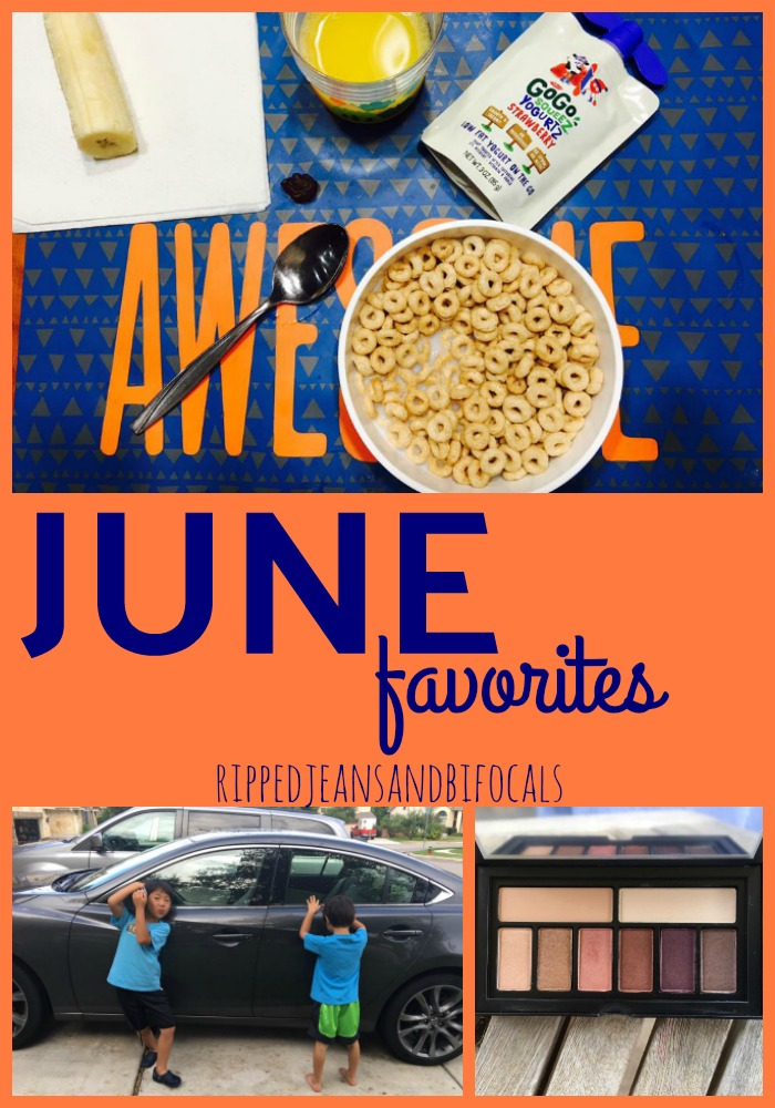 June Favorites Ripped Jeans and Bifocals