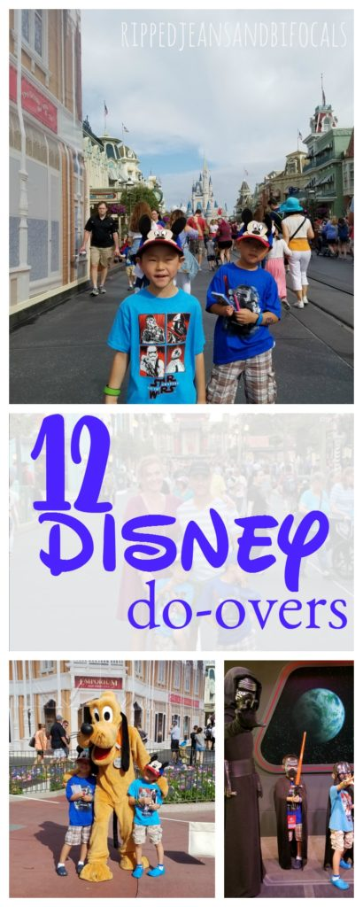 If you are planning family travel to Disney World, I've got some awesome Disney travel planning tips for you. I'm sharing a list of Disney World do-overs...things I've learned from all of our Disney trips Ripped Jeans and Bifocals