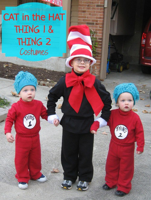 1 and thing 2 mission to save if you need inspiration for easy diy family halloween costume check out this list - Thing 1 Thing 2 Halloween Costume
