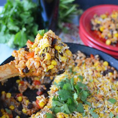 Easy Enchilada Skillet Dinner