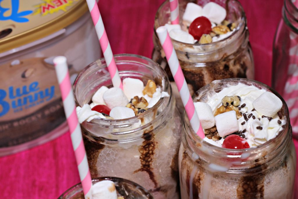 Old-Fashioned Rocky Road Ice Cream Soda Ripped Jeans and Bifocals