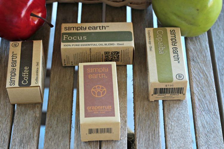 Four essential oil blends for back to school (and review of Simply Earth Subscription Box!)
