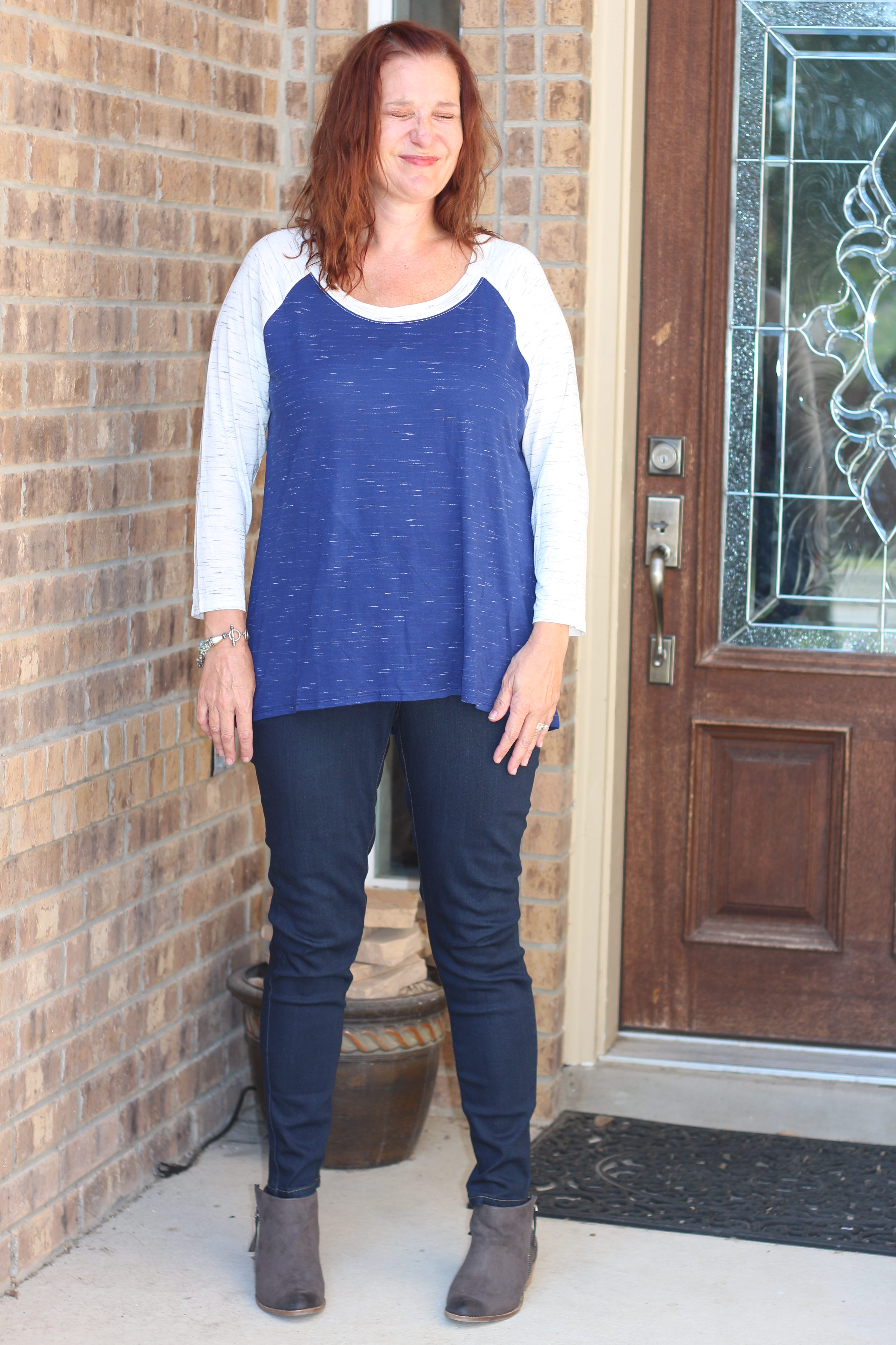 Review of the Stitch Fix box that I didn't really like|Ripped Jeans and Bifocals