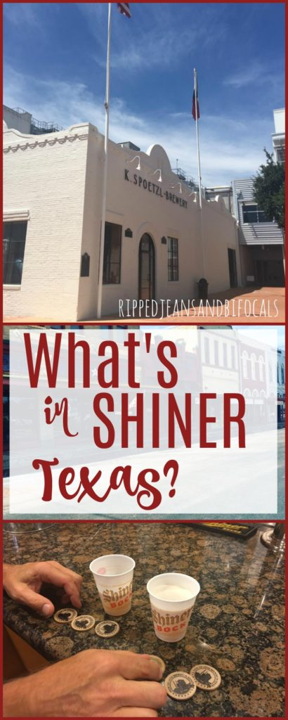 Have you ever wanted to visit Shiner Texas? We did an I'm sharing all the details of our weekend trip from Shiner to San Antonio. Check out these things to do in Shiner Texas|Ripped Jeans and Bifocals