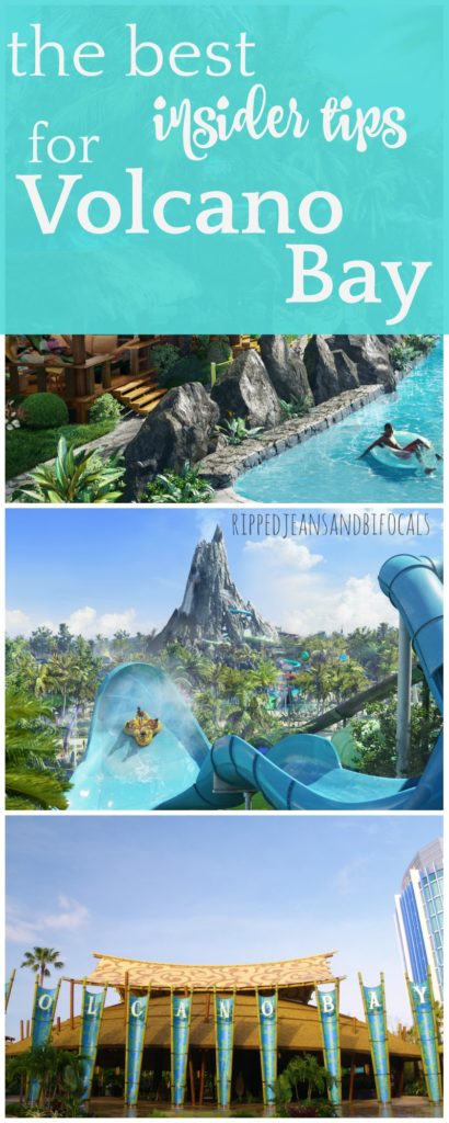If you're planning a trip to Universal Studios Florida, you'll want to add the newest park, Volcano Bay, to your list of must do's. I'm sharing some Volcan Bay tips that will help you plan your trip. Prepare to have a blast! |Ripped Jeans and Bifocals