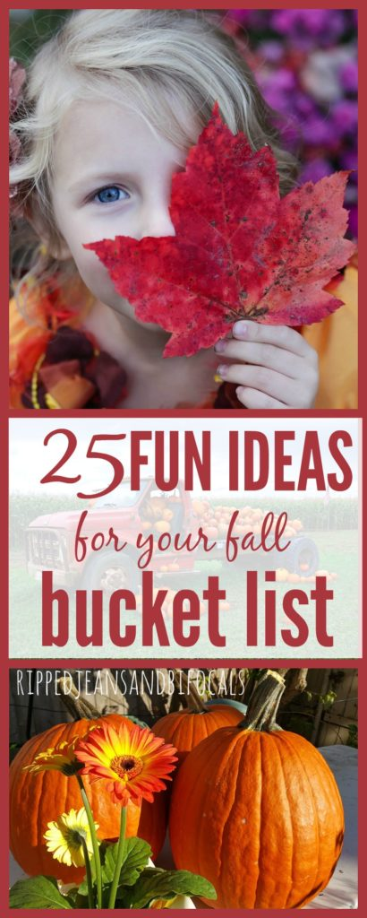 Fall Family Bucket List|Ripped Jeans and Bifocals
