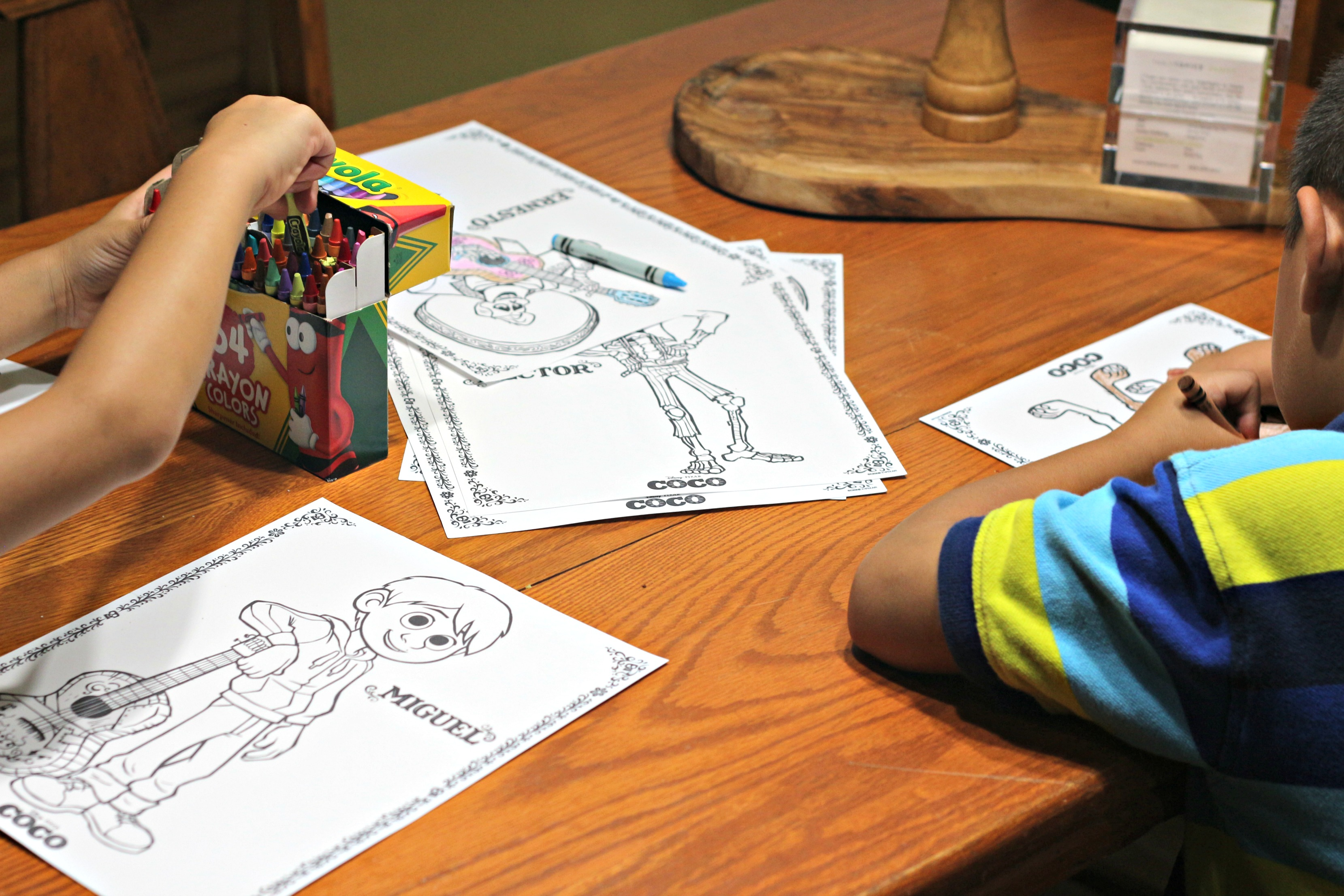Coco Coloring Pages|Ripped Jeans and Bifocals