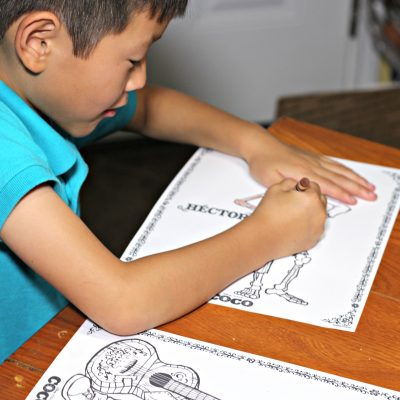 Disney Pixar's Coco Coloring Pages