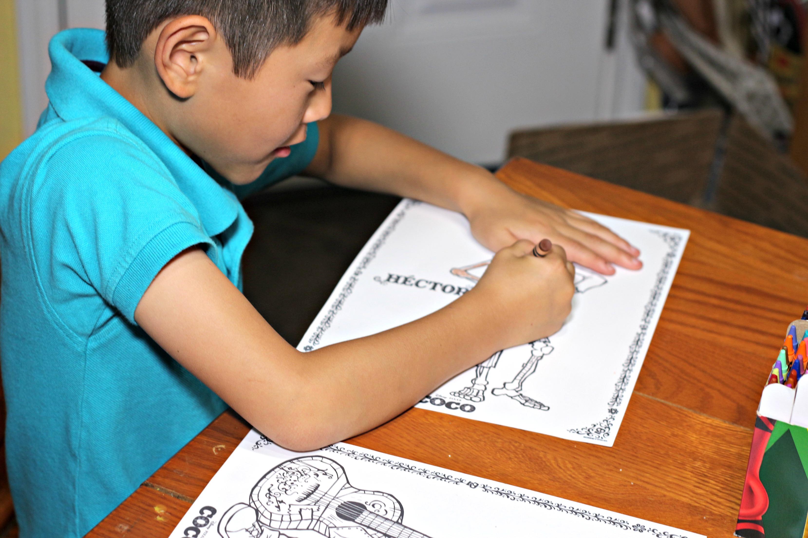 Miguel Hector Ernesto Dante Dante II Maze Activity Sheet