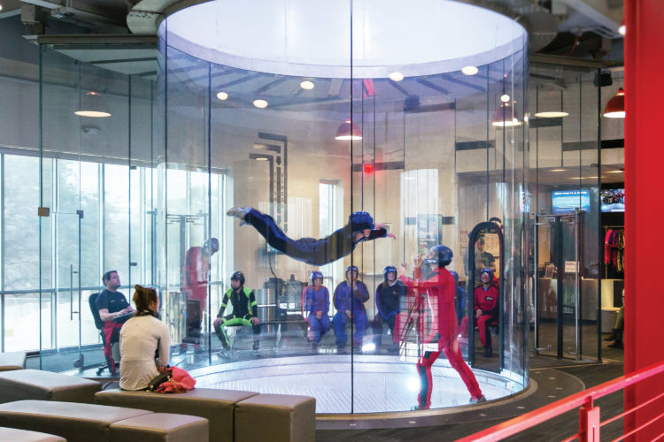 An uncommon date night – iFly San Antonio