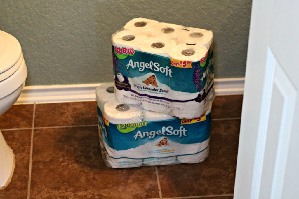 My best advice for how to prepare your house for a football party. Hint: It involves stocking up on toilet paper!|Ripped Jeans and Bifocals