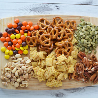 Thanksgiving Snack Mix (AKA Turkey Feed)