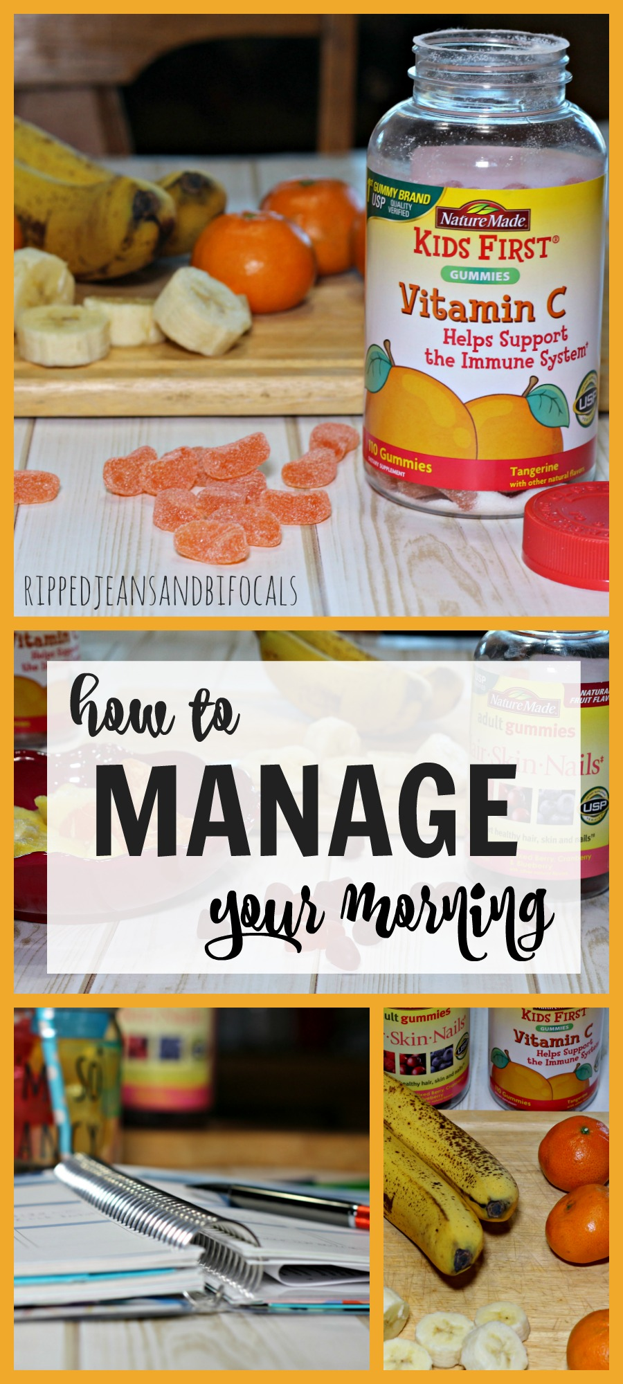 How to manage your morning|Ripped Jeans and Bifocals