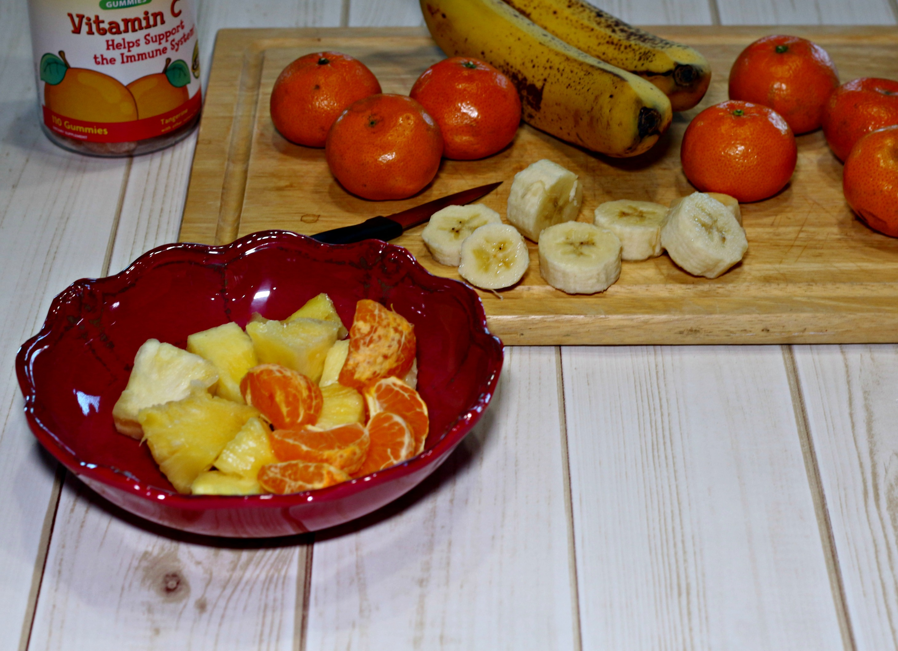 Preportioning fruit for tomorrow's smoothies is one little thing you can do tonight to help you rock your morning tomorrow. It takes so little time! Ripped Jeans and Bifocals
