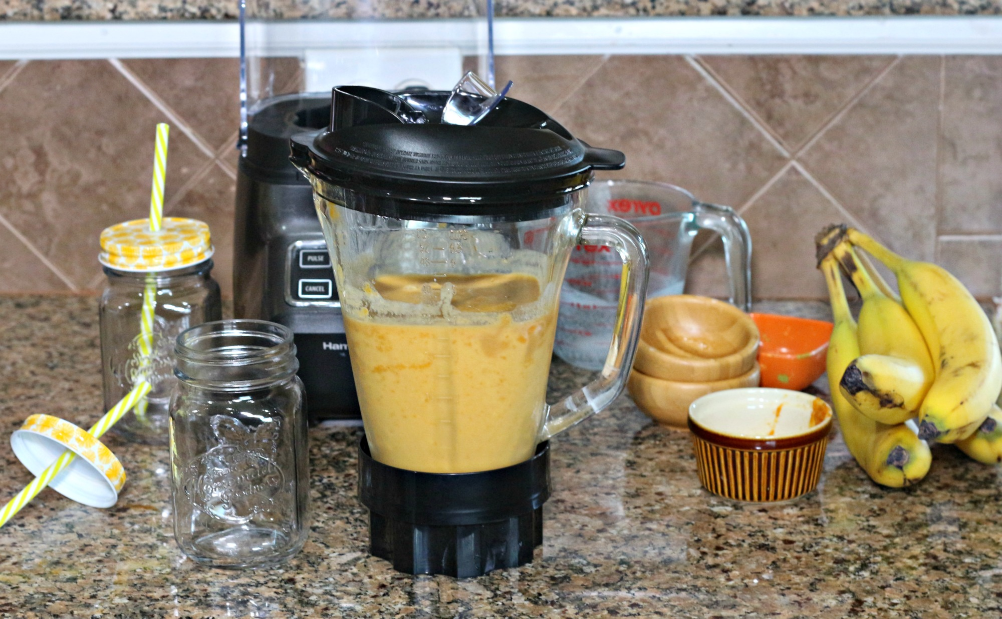 pumpkin banana smoothie|Ripped Jeans and Bifocals