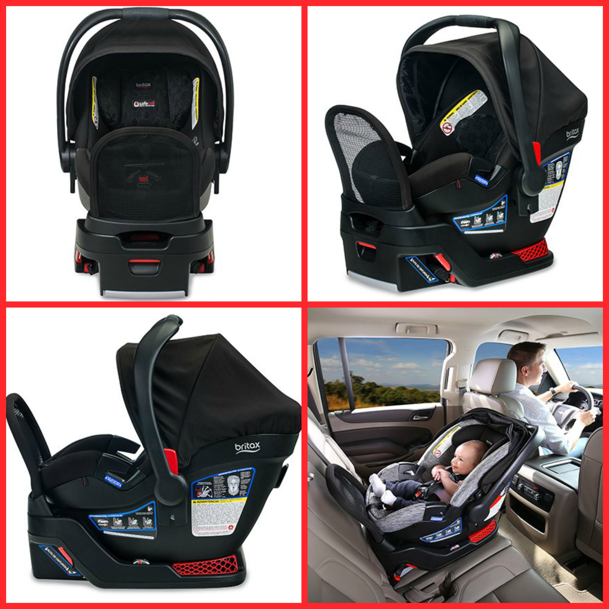 Review Of The Britax Endeavours Car Seat