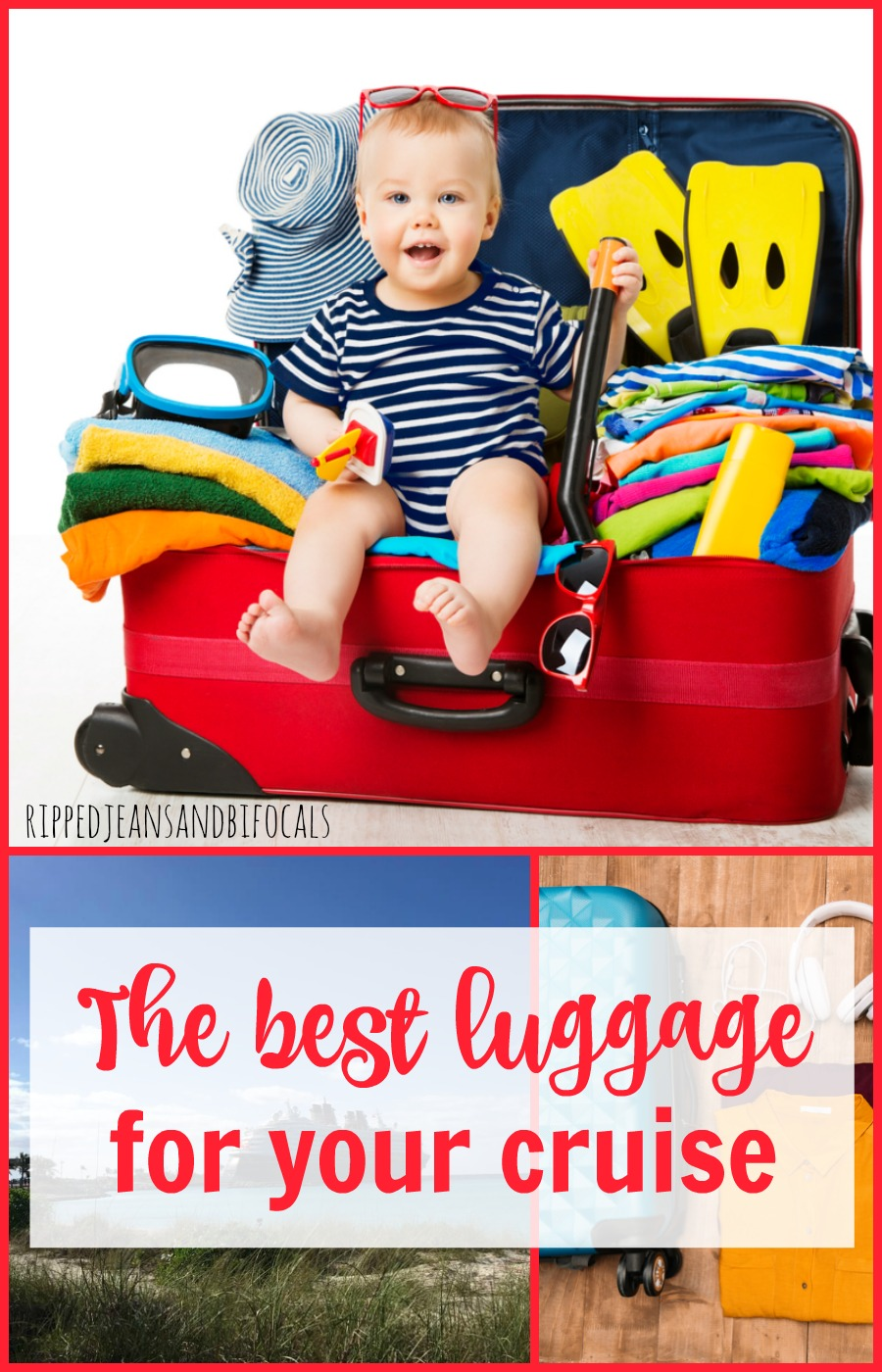 The best luggage for cruises|Ripped Jeans and Bifocals