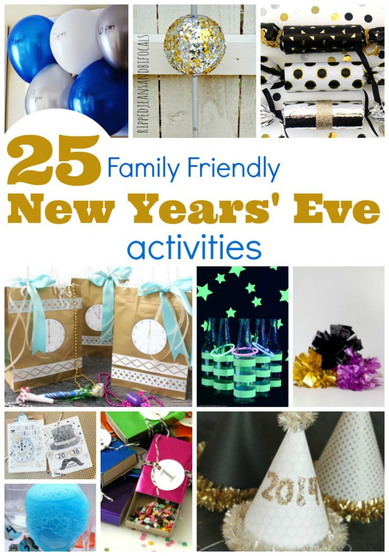 25 Family Friendly New Years Eve Activities|RIpped Jeans and Bifocals