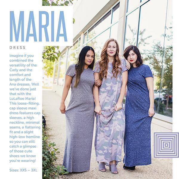 Lularoe debuts the new Maria and the Lularoe Buy and Sell groups have some feelings|Ripped Jeans and Bifocals