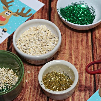 Easy Reindeer Dust Printable|Ripped Jeans and Bifocals