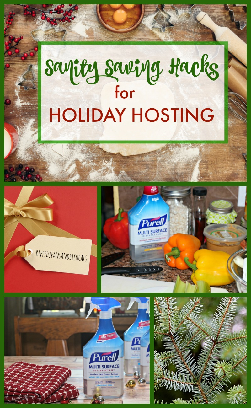 Sanity Saving Hacks for Holiday Hosting|Ripped Jeans and Bifocals