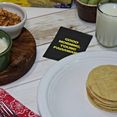 Survive Winter Break with Kids with a Eggo Star Wars Breakfast