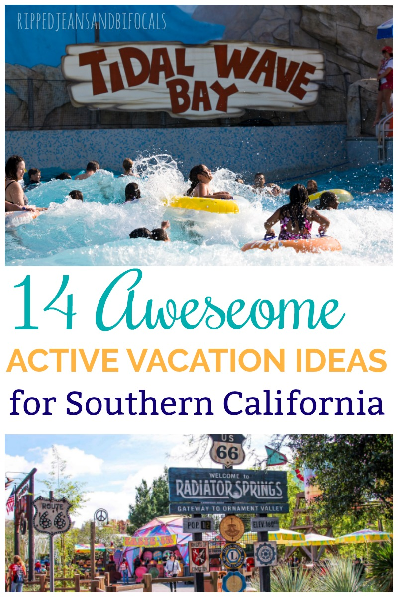active vacation ideas for southern california