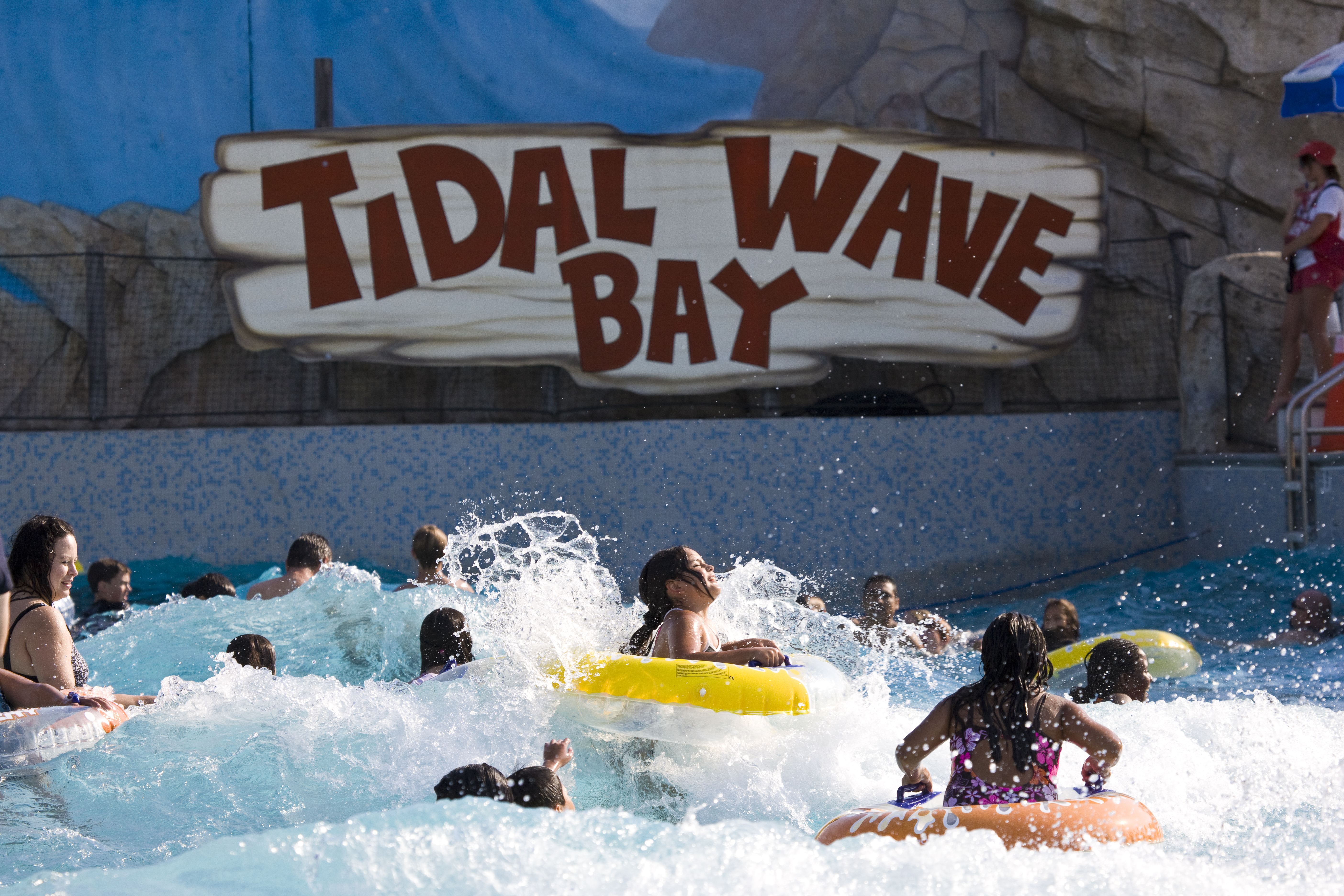 "Add ""go to a water park"" to your list of active vacation ideas in Southern California!"