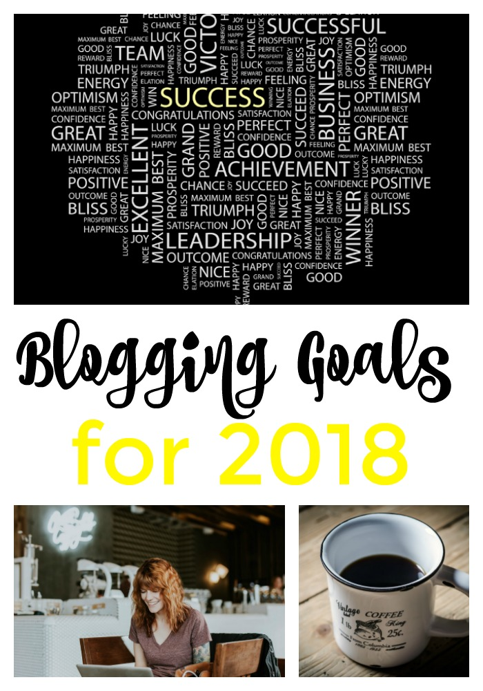 Maybe I'm sharing this to hold myself accountable...or maybe I'm hoping this will inspire someone else out there. At any rate, here are my 2018 Blogging Goals for Ripped Jeans and Bifocals
