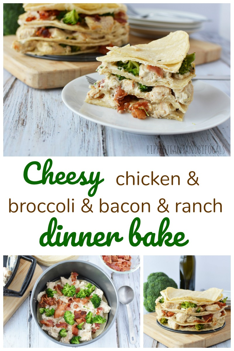 Don't you want to make this easy, cheesy, chicken broccoli ranch bake for dinner?
