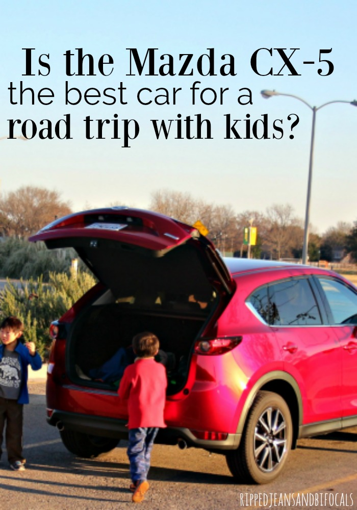 Does the Mazda CX-5 make a good family road trip car? Our short answer is YES