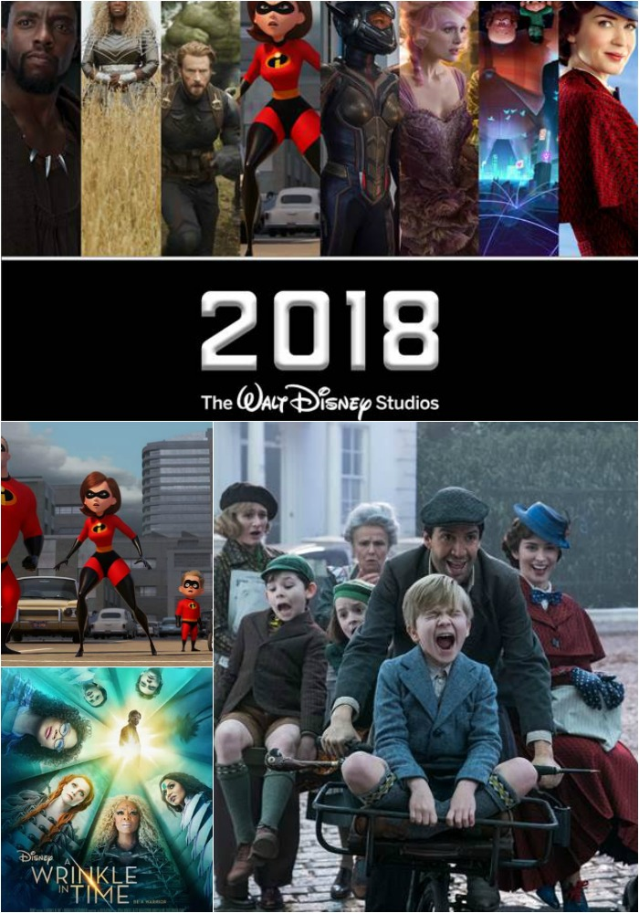 2018 Disney Movie Schedule|Ripped Jeans and Bifocals