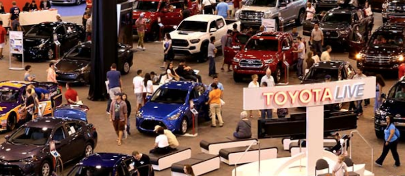 Come With Me To The Houston Auto Show - Car show houston