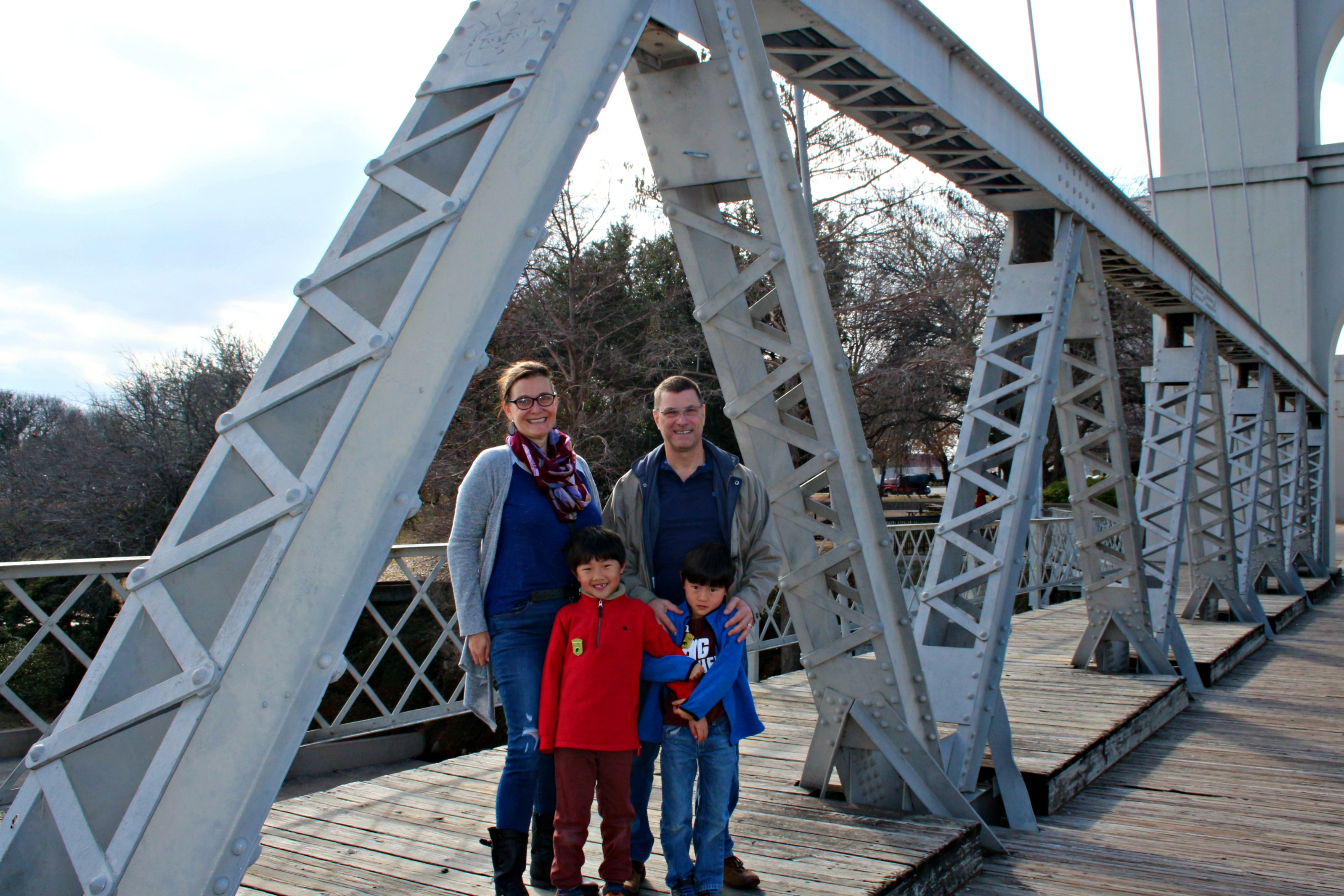 If you're looking for things to do in Waco, don't pass up the photo opps to be had at the Waco Suspension Bridge