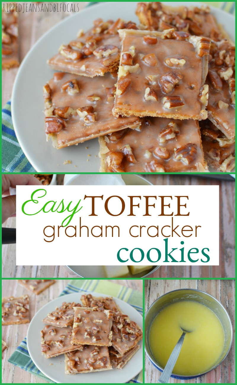 Toffee Graham Cracker Cookies