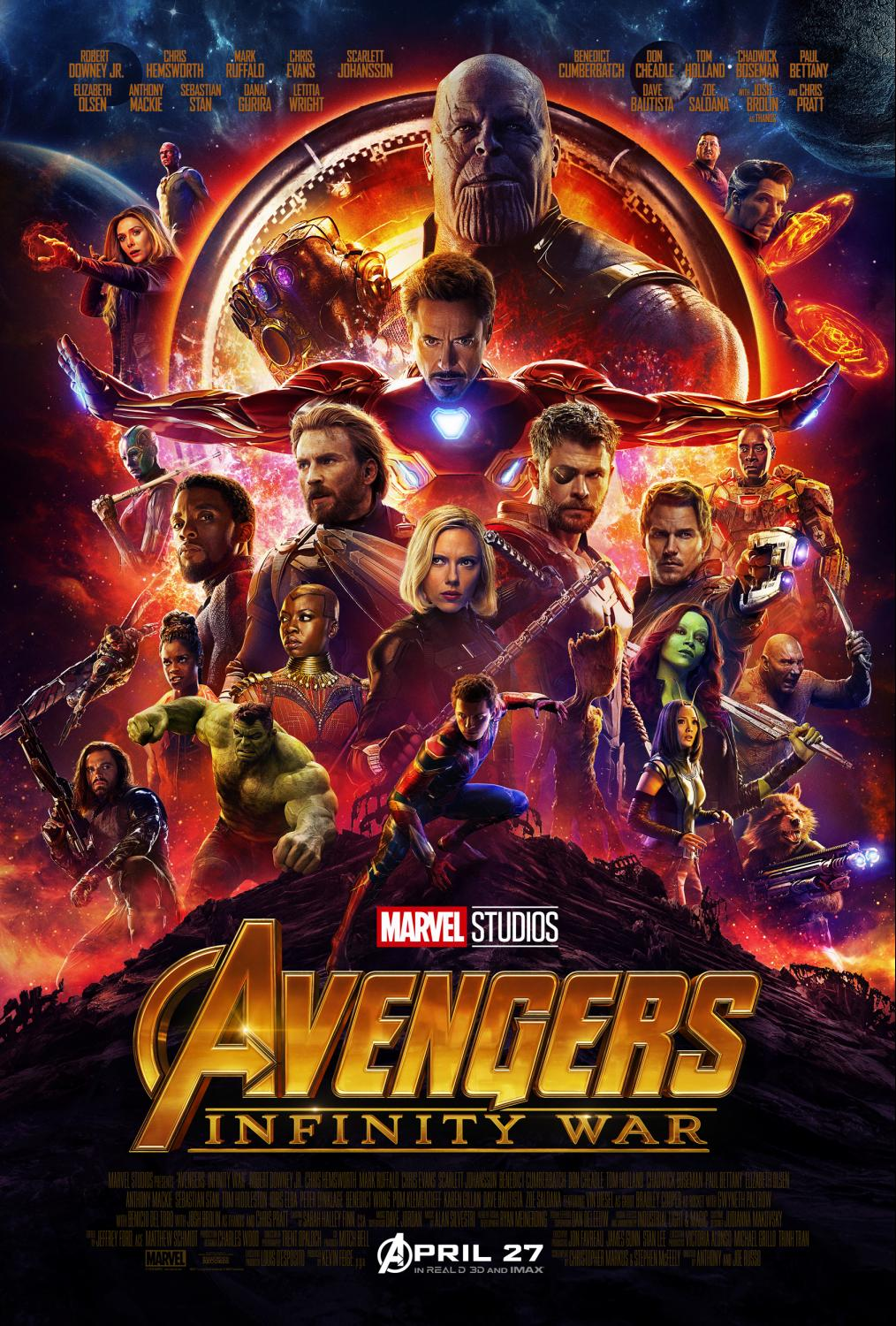 Avengers Infinity War is coming and I'm kind of geeking out|Ripped Jeans and Bifocals
