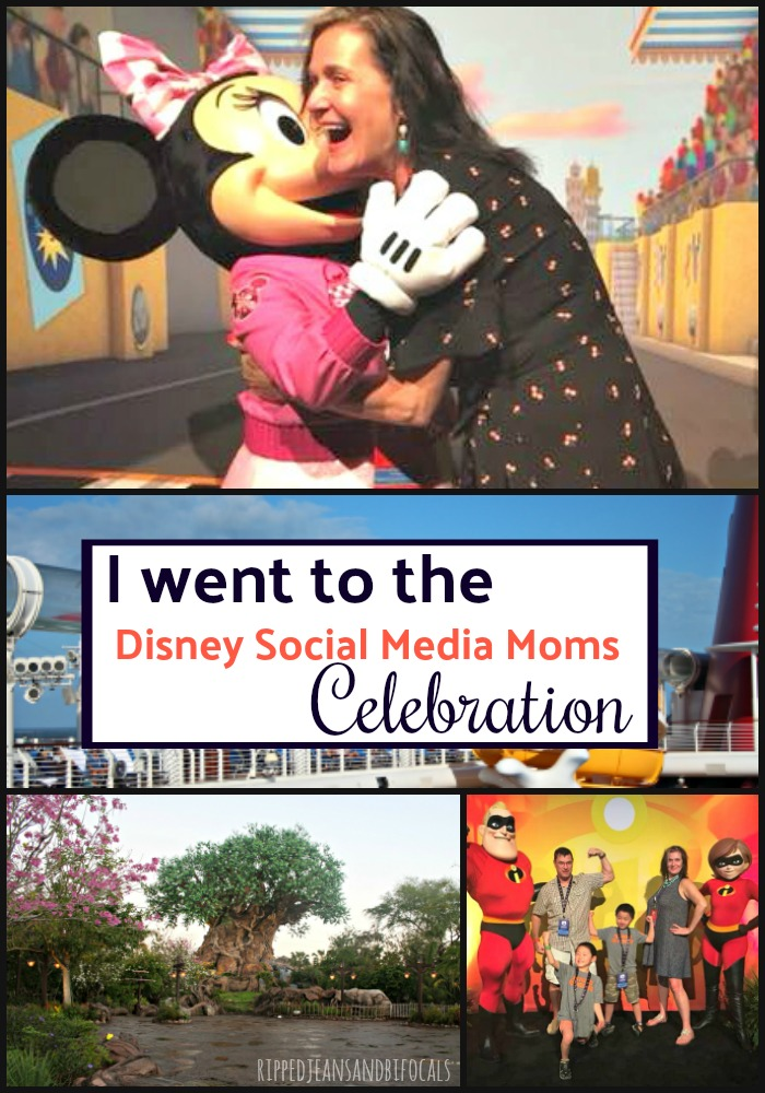 I went to the 2018 Disney Social Media Moms Celebration|Ripped Jeans and Bifocals