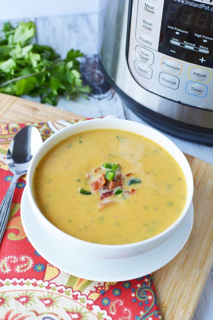 Easy winter meals - sweet potato soup