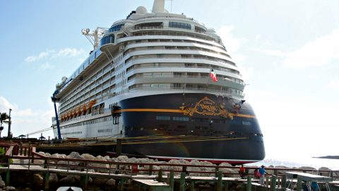 What I love about the Disney Dream - A Review of the Disney Dream Ripped Jeans and Bifocals