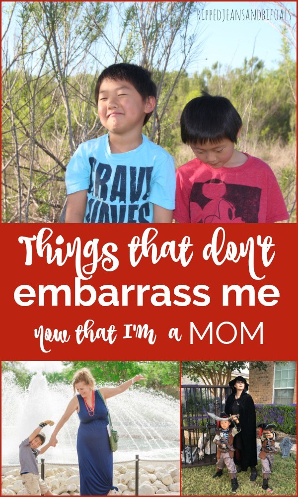 Things that don't embarrass me now that I'm a mom|Ripped Jeans and Bifocals
