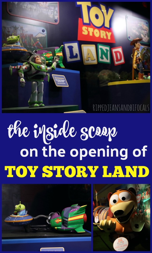 Toy Story Land Opens June 30th and here's what we know|RIpped Jeans and Bifocals