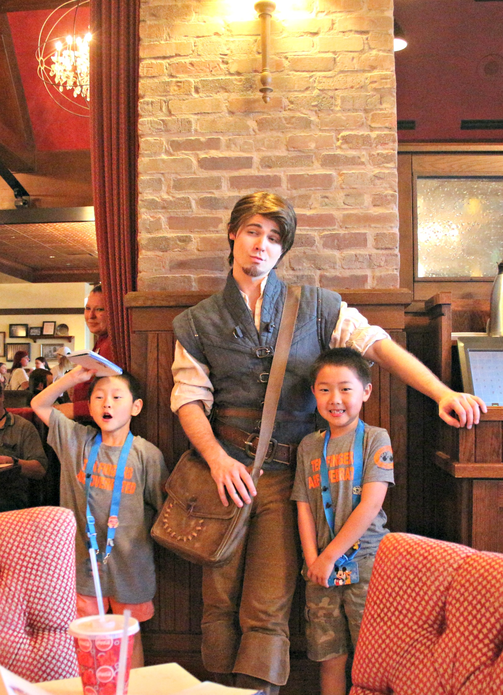 The Bon Voyage Adventure Breakfast at Trattoria al Forno is the only character meal where you can meet Disney princes. Well...Flynn Rider is a prince. I guess.